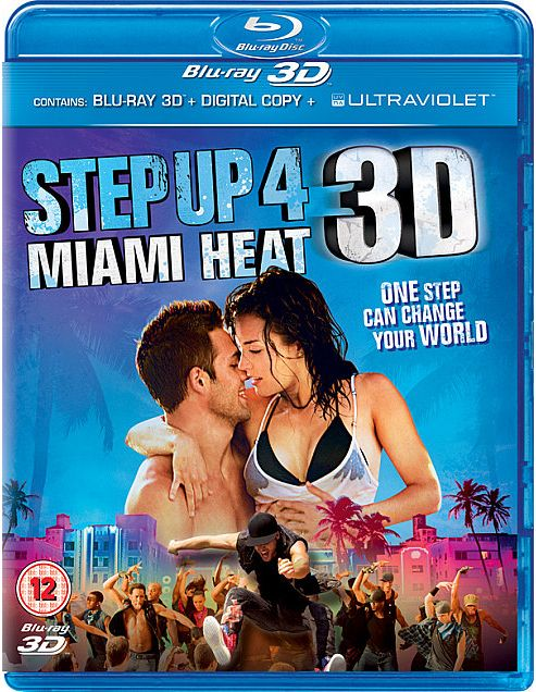 Step Up 4 3D (3D Bd+2Bd+E-Copy+ Ultraviolet)