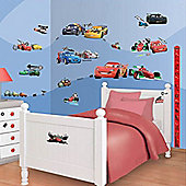 Disney Cars Room Decor Kit with Height Chart