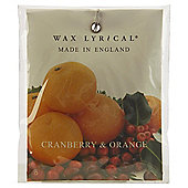 Wax Lyrical Made in England Cranberry & Orange Scented Drawer Sachet