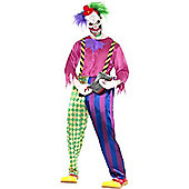 Kolorful Killer Klown - Adult Costume 18+