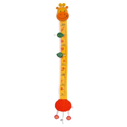 I'm Toy Giraffe Measurement Chart, wooden toy
