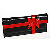 Large Jewellery Purse - Black / Red
