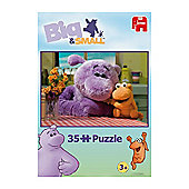Jumbo Big & Small 35 Piece Puzzle Set