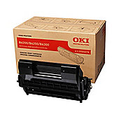 OKI Drum/Toner Cartridge for B6200/B6250/B6300 Mono Printers (Black)
