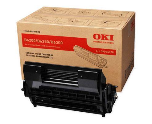 OKI Drum/Toner Cartridge for B6200/B6250/B6300 Mono Printers (Black)