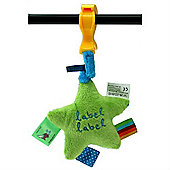Label Label Clip-On Trembling Toy (Green/Blue)