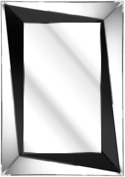 D & J Simons The Solitaire Bevelled Sloped Mirror