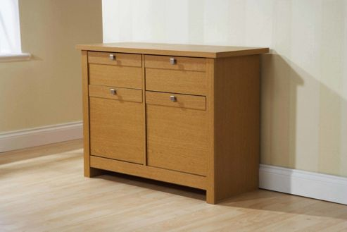 Elements Fusion 2 Drawer Sideboard - Oak