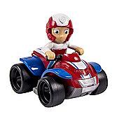 Paw Patrol Nickelodeon Paw Patrol Racers Ryder Small Vehicle