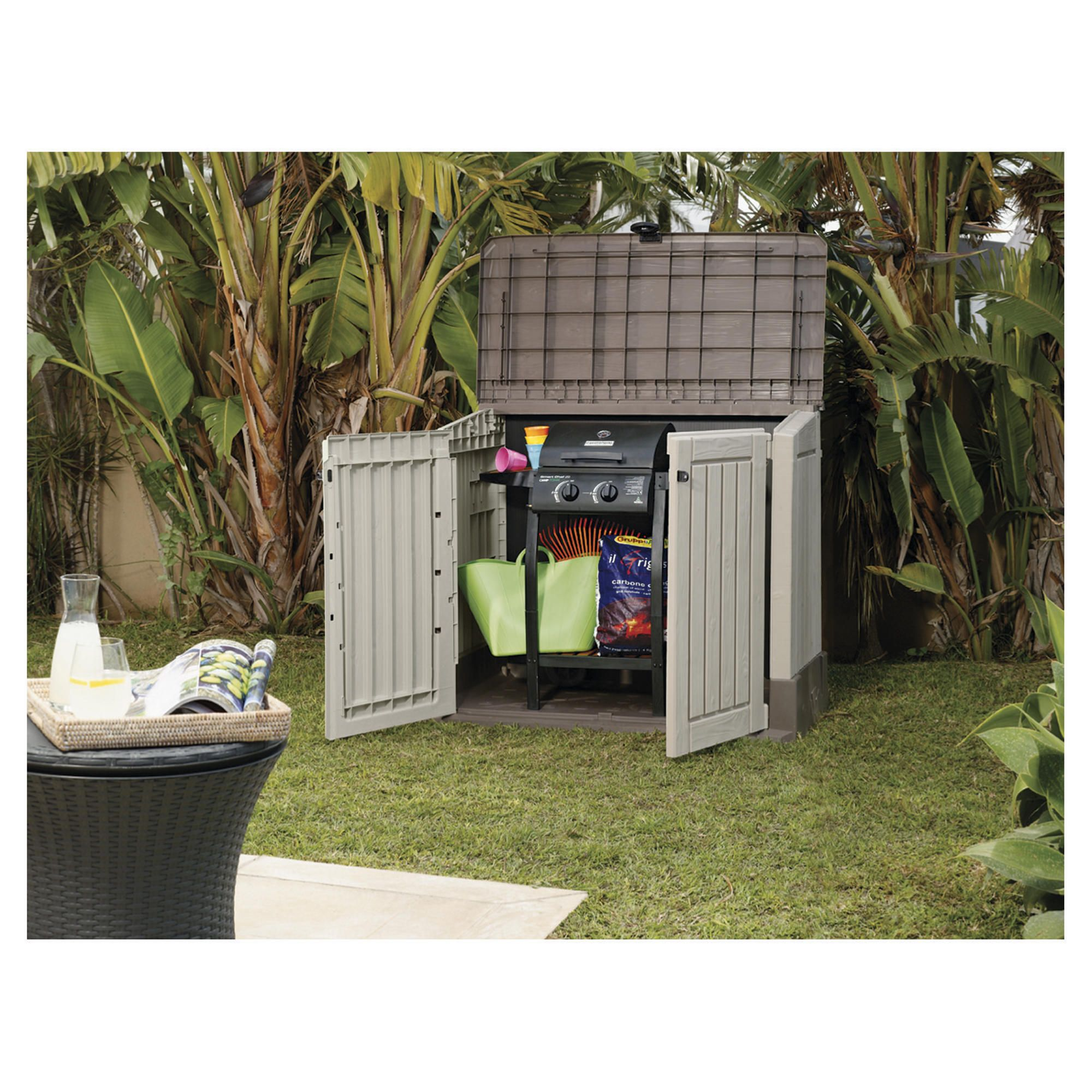 Sharty argos garden storage sheds for Garden shed tesco