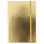 T. Gold Soft Cover Notebook