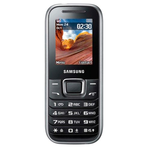 Orange Samsung E1230 Black