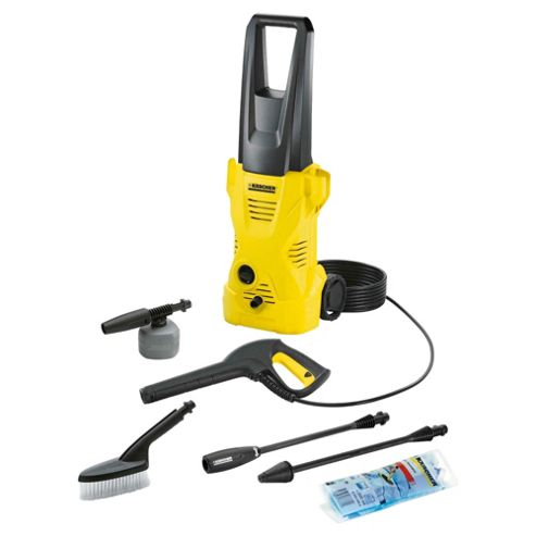 Karcher K2 Pressure Washer with Car Cleaning Brush