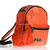 Fila Marshall Mini Kids backpack / School bag / Ruck Sack 30 x 25 x 12cm Orange