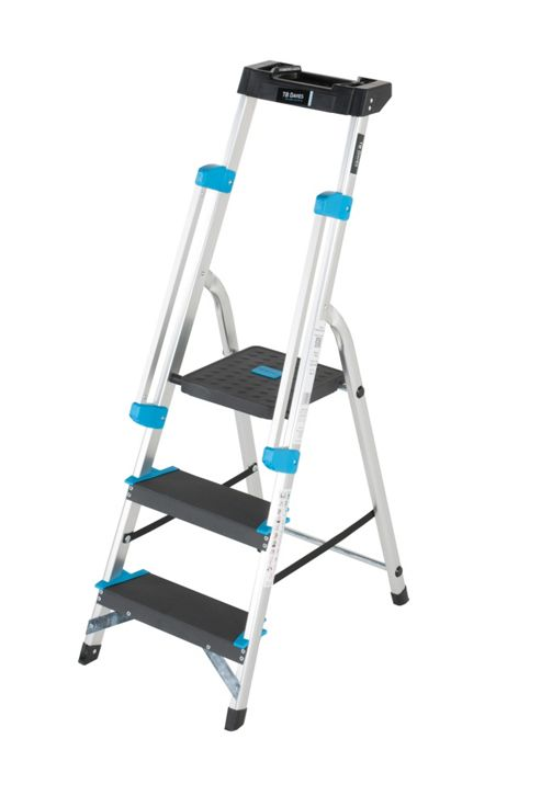 Professional 3 Tread Platform Step Ladder (Handrail & Tool tray)