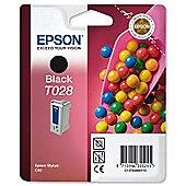 Epson Singlepack Black T028 DURABrite Ink