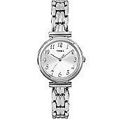 Timex Ladies Wms Chrome Multi Link Watch T2P200