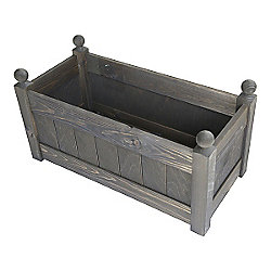 26'' Clarence Classic Oak Planter Trough with 2 Plastic Liners