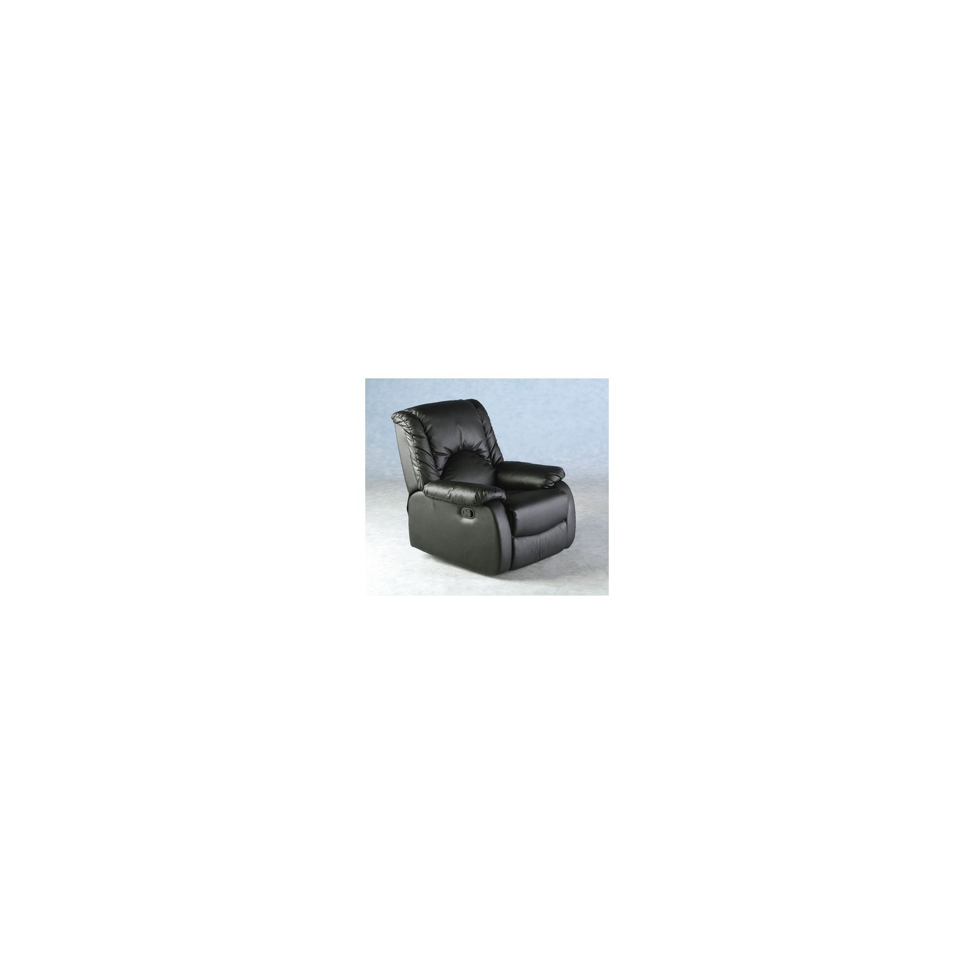 Home Essence Albert Recliner in Black at Tesco Direct