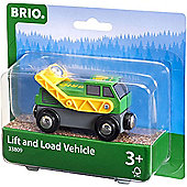 BRIO 33809 Swivel Loading Engine for Wooden Train Set