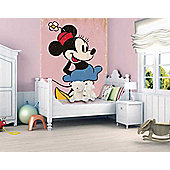 1Wall Minnie Mouse Wall Mural