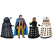 Doctor Who Exclusive Action Figure Set - Revelation of the Daleks
