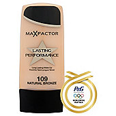 Max Factor Lasting Performance Make Up109 Natural Bronze