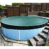 Deluxe Winter Debris Cover For Splasher & Steel Pools- 24ft Round
