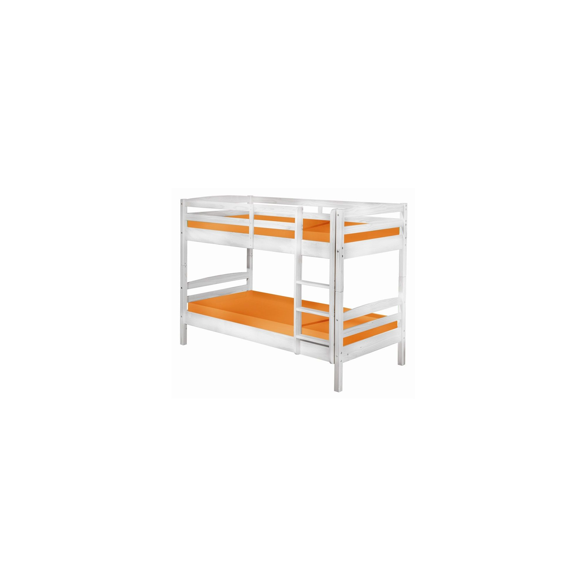 Aspect Design Rick Solid Wood Bunk Bed in White at Tesco Direct