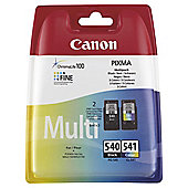 Canon PG-540/PG-541 Ink Cartridge Black/Cyan/Magenta/Yellow