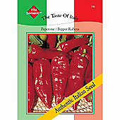 Sweet Pepper 'Rubens' - Vita Sementi® Italian Seeds - 1 packet (200 sweet pepper seeds)