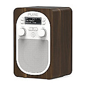 Pure EVOKE-D2-WALNUT Portable DABFM Radio with Walnut Veneer