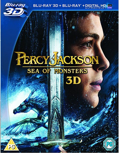 Percy Jackson Sea Of Monsters - 3D Blu-Ray