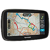 "TomTom Go 50 Sat Nav, 5"" LCD Touch Screen with Western Europe Maps"