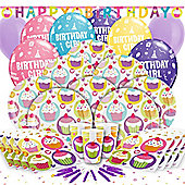 Cupcake Deluxe Party Pack for 16
