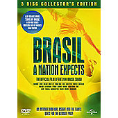 Brasil: A Nation Expects - 3 Disc Collectors Edition - DVD