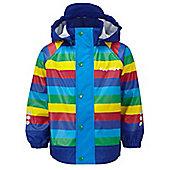 Kozi Kidz Varberg Fleece Lined Rain Jacket 120cm