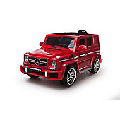 Licensed 12V Mercedes G63 AMG Red
