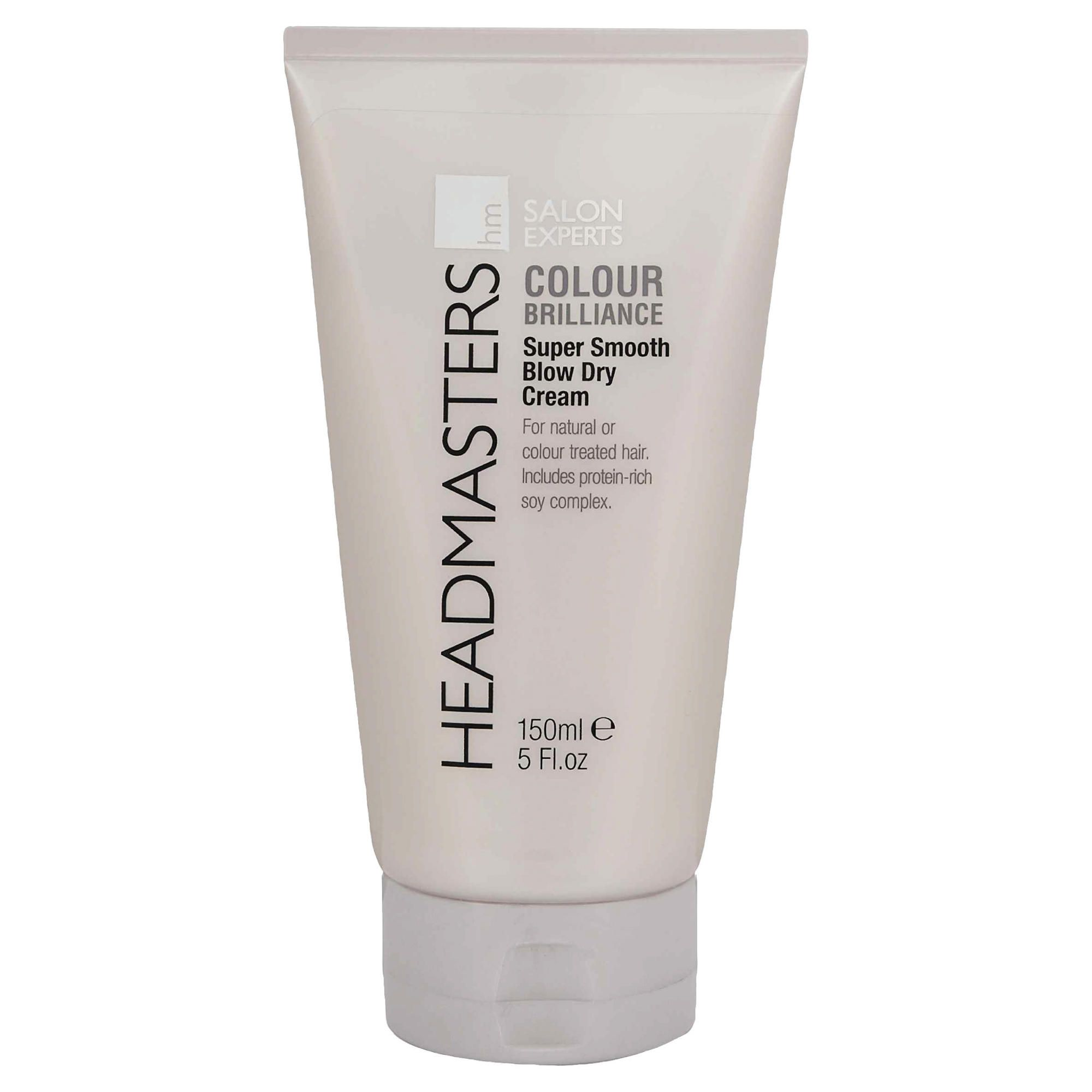 Headmasters Colour Brilliance Super Smooth Blow Dry Cream 150ml