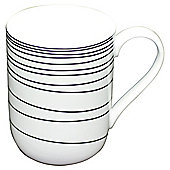 Tesco Atlanta White Porcelain Mug White