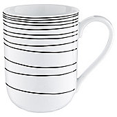 Tesco Atlanta Super White Porcelain Mug, White