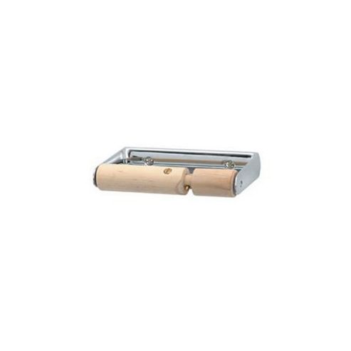 Triton Carlton Toilet Roll Holder with Locking Wooden Roller