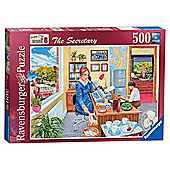 Ravensburger Happy Days at Work - The Secretary, 500 Piece Puzzle