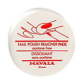Mavala Nail Polish Remover Pads 30 Pieces