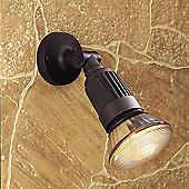Firstlight Outdoor Wall Spot Light in Black