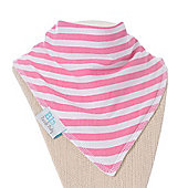Bebelephant Banda Bib (Pretty Pink Stripe)