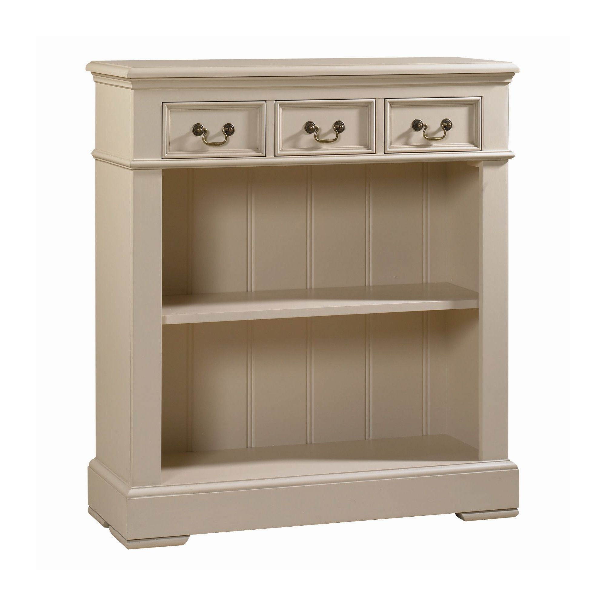 YP Furniture Bookcase - Oak Top and Ivory at Tesco Direct