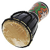 A-Star 6 inch Painted Djembe.