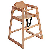 Safetots Simply Stackable Highchair Natural