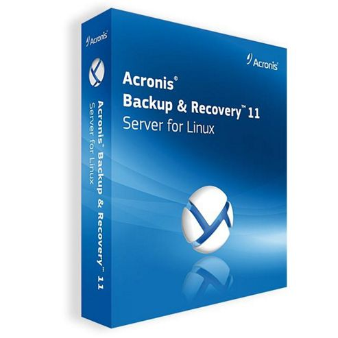 Acronis Software Backup and Recovery 11 Server for Linux